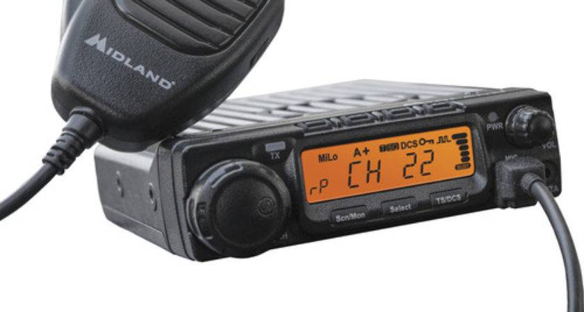 Midland Micromobile Mxt Channel Two Way Gmrs Radio