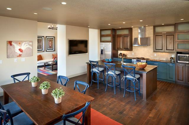 Midtown Portfolio Contemporary Kitchen Denver