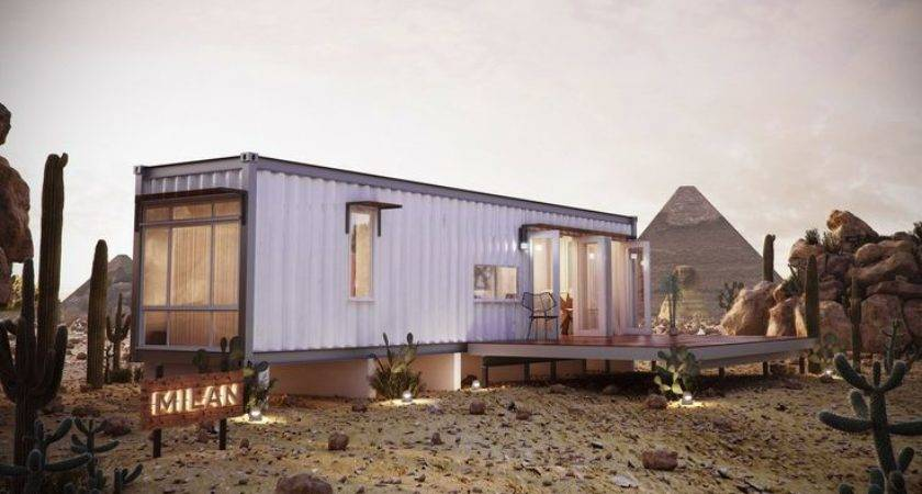 Milan Prefabricated Modular Home One Bedroom Container