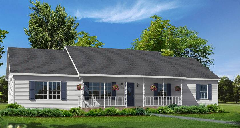 Mill Brook Ranch Style Modular Homes
