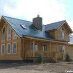 Milled Log Homes Cowboy