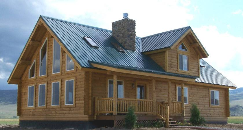 Milled Log Homes Cowboy