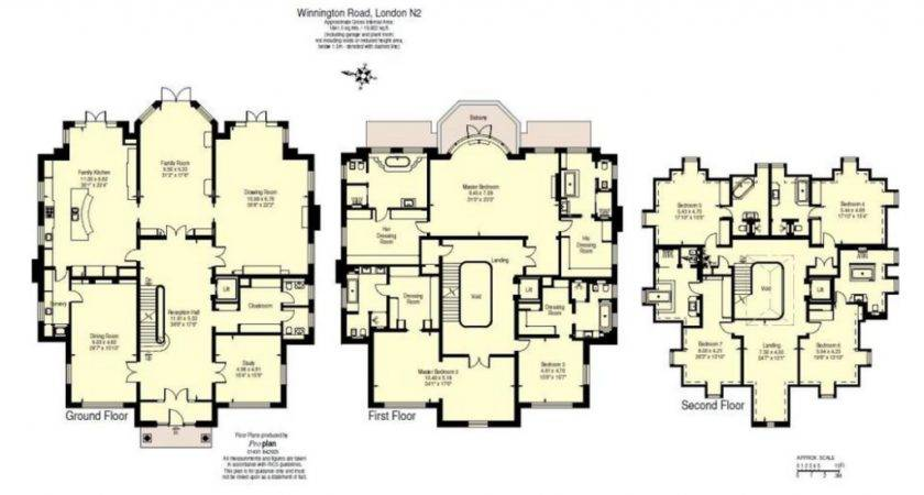 Million Newly Built Square Foot Brick Mansion London