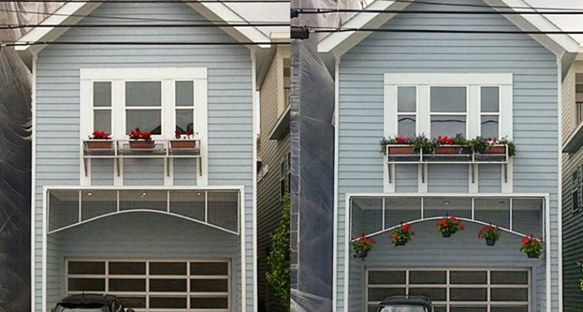 Mini Brings Garage Flower Baskets Midtown Shotgun