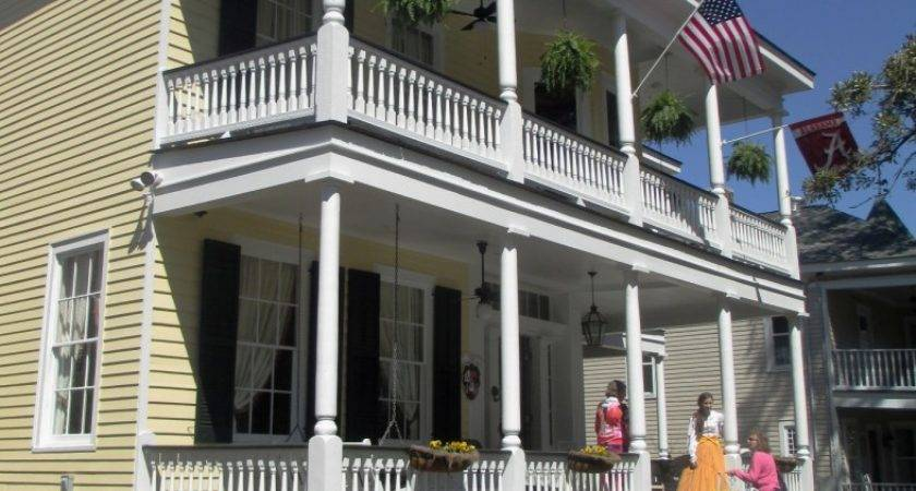 Mobile Alabama Home Tour Historic House Colors