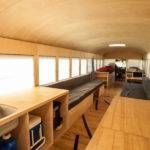 Mobile Bus Home Smart Renovation Wheels Ergonomics