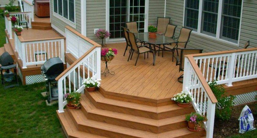 Mobile Home Decks Stairs Super Easy Steps Deck