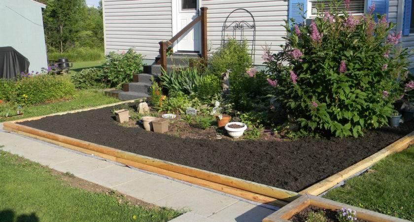 Mobile Home Estate Garden Makeover