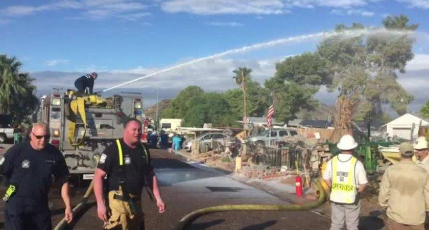 Mobile Home Fire Northwest Phoenix