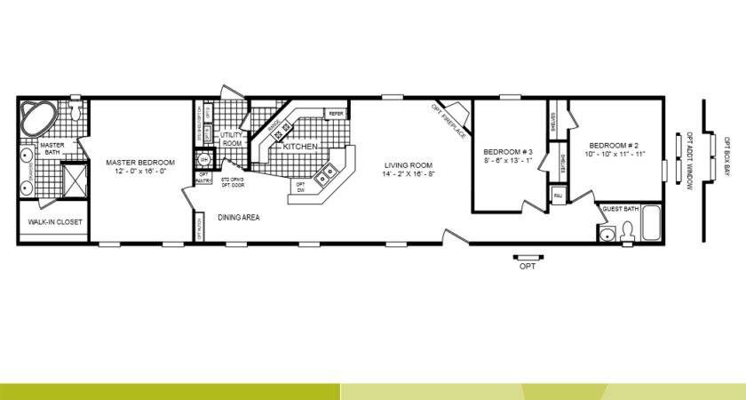 Mobile Home Floor Plans Bedroom Bathroom