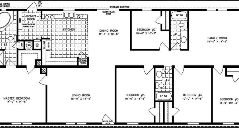 Mobile Home Floor Plans Bedroom Homes Ideas