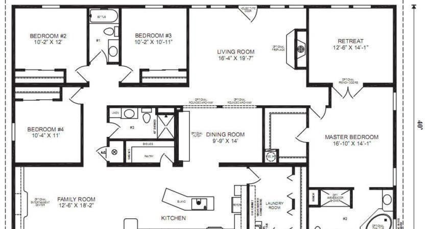 Mobile Home Floor Plans Bee Plan