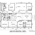 Mobile Home Floor Plans Larger Plan Design