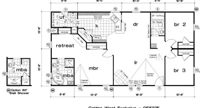 Mobile Home Floor Plans Manufactured Idea