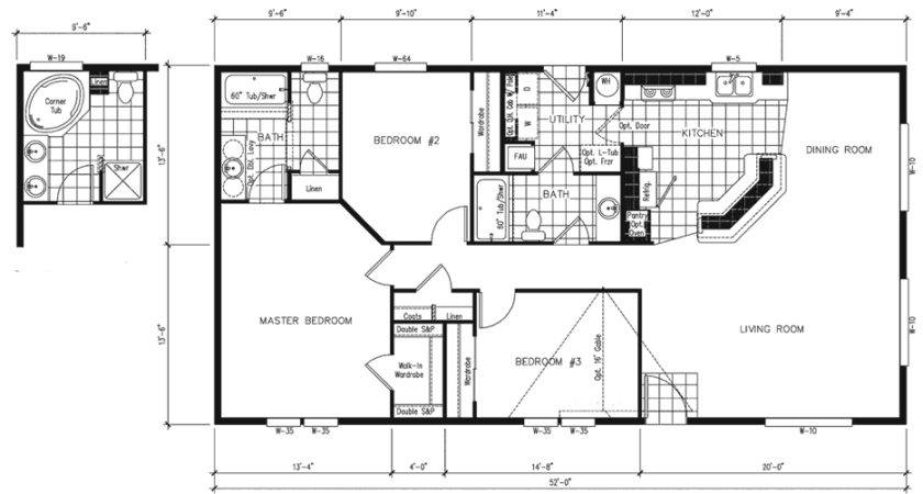 Mobile Home Floor Plans Modular Special