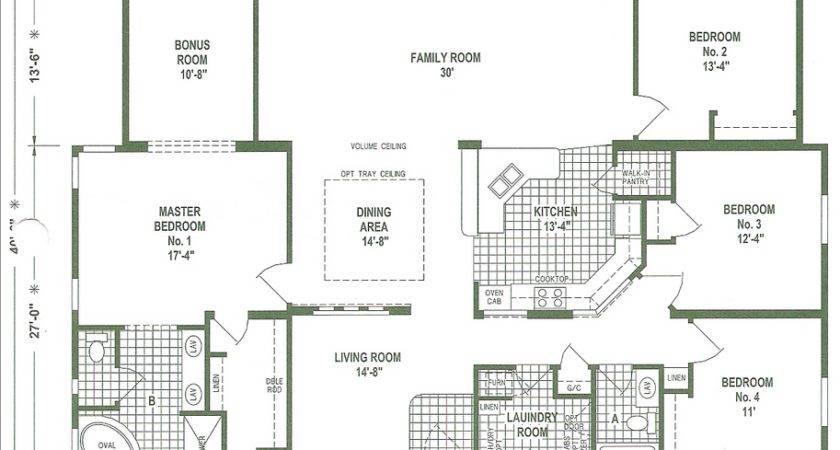 Mobile Home Floor Plans Triple Wide Homes Ideas