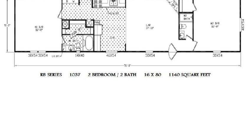 Mobile Home Floor Plans Well Bedroom Bath House