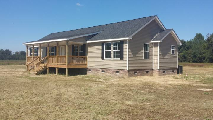Mobile Home Front Porch Designed Small Spacious