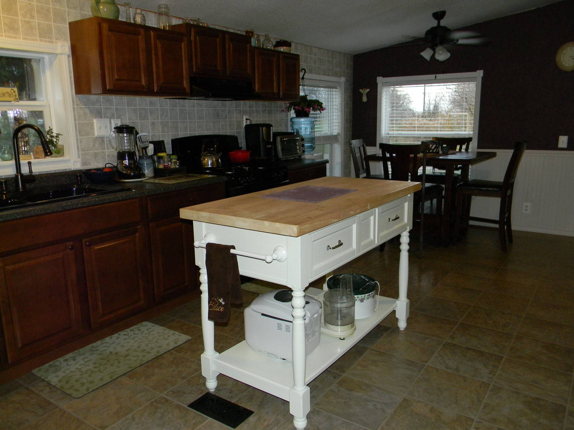 Mobile Home Kitchen Remodel Makeover