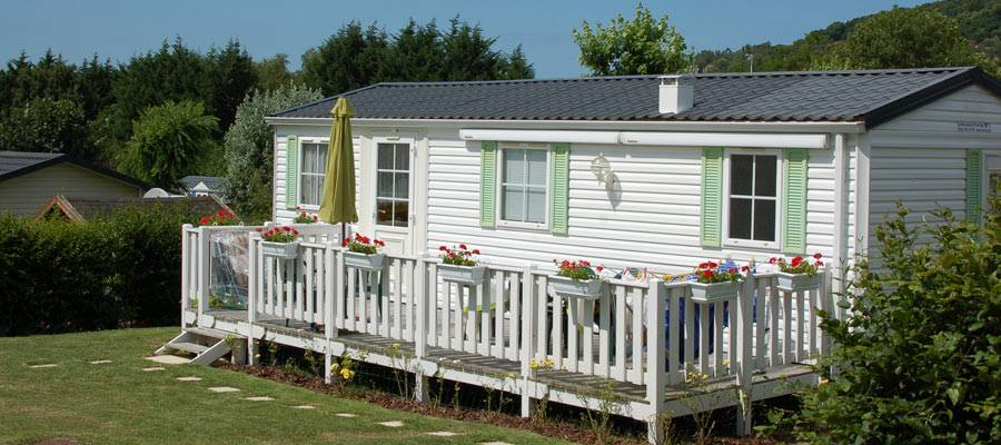 Mobile Home Owner Camping Normandie Verblijjf Kopen