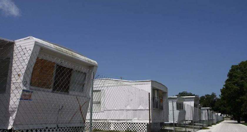 Mobile Home Park Firm Has Contract Buy Owner