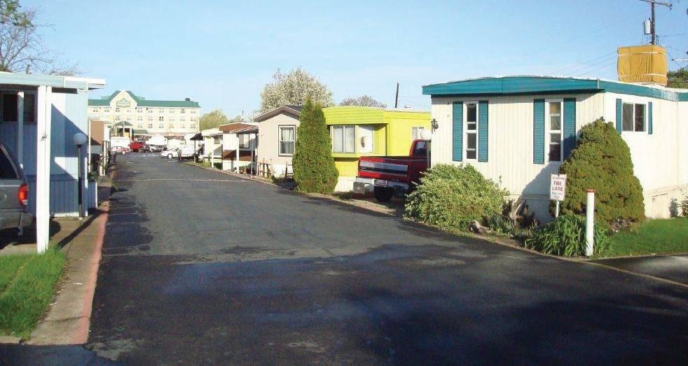 Mobile Home Park Homes Trailer Villages Pinterest