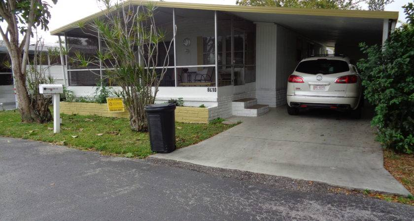 Mobile Home Park New Port Richey Florida Colony Cove