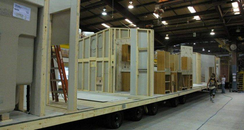 Mobile Home Wall Construction