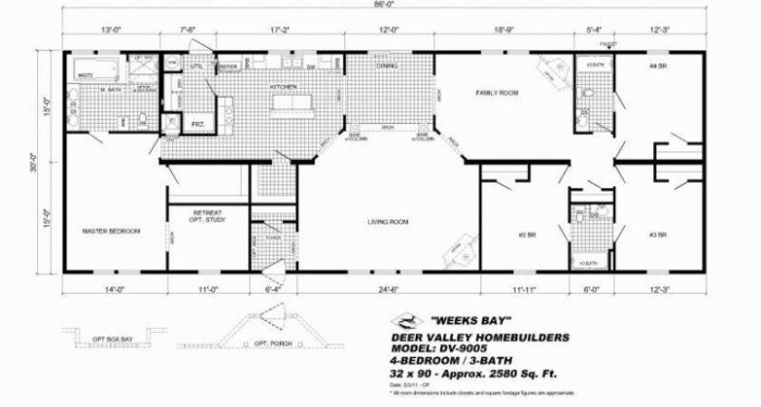 Mobile Homes Addition Fairmont Home Floor Plans