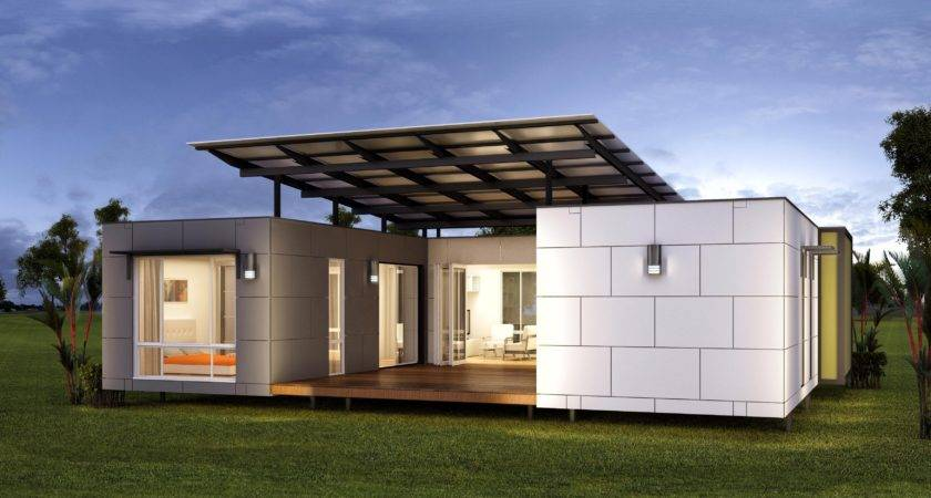 Mobile Homes Chalet Modular Luxury New House Design