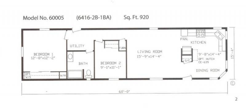 Mobile Homes Plans Greggshomes Biz Singlewide Floor