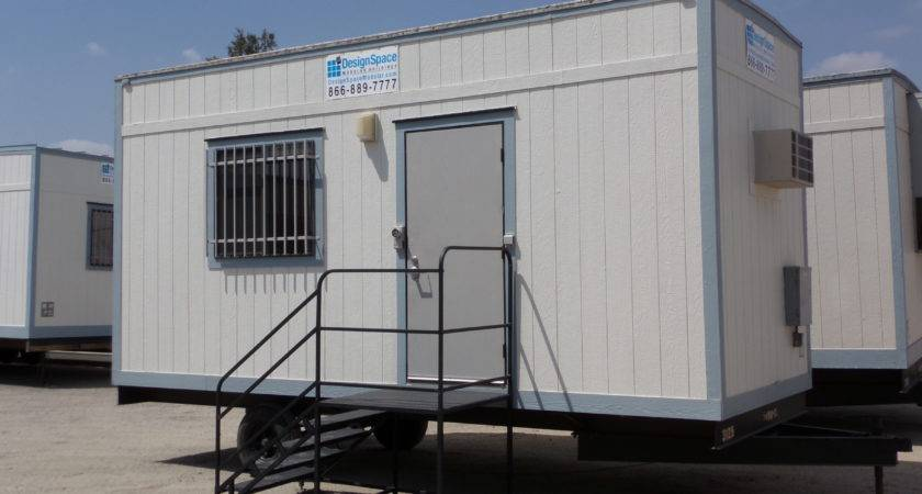 Mobile Office Trailer Outfitted Staircase Easy