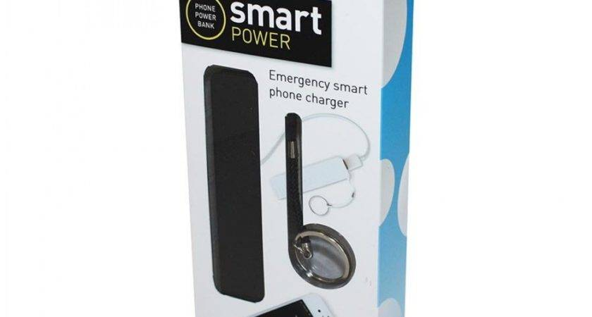 Mobile Phone Power Bank Black