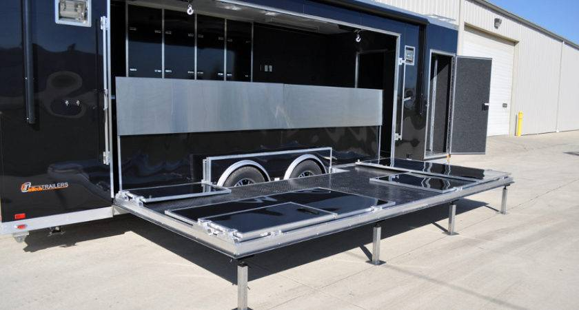 Mobile Stage Staging Custom Trailers