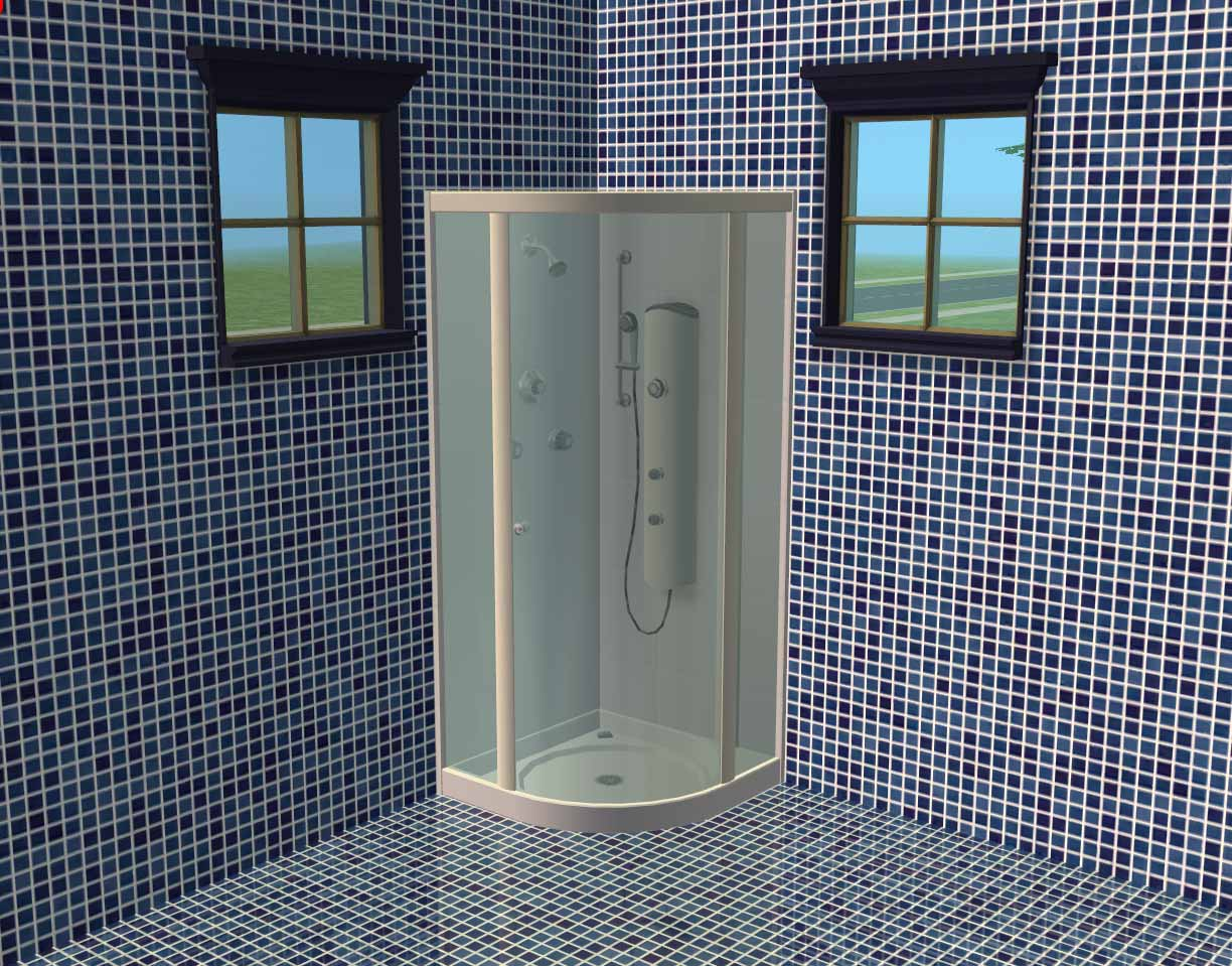 Mod Sims Mosiac Bathroom Tiles Pool Tile