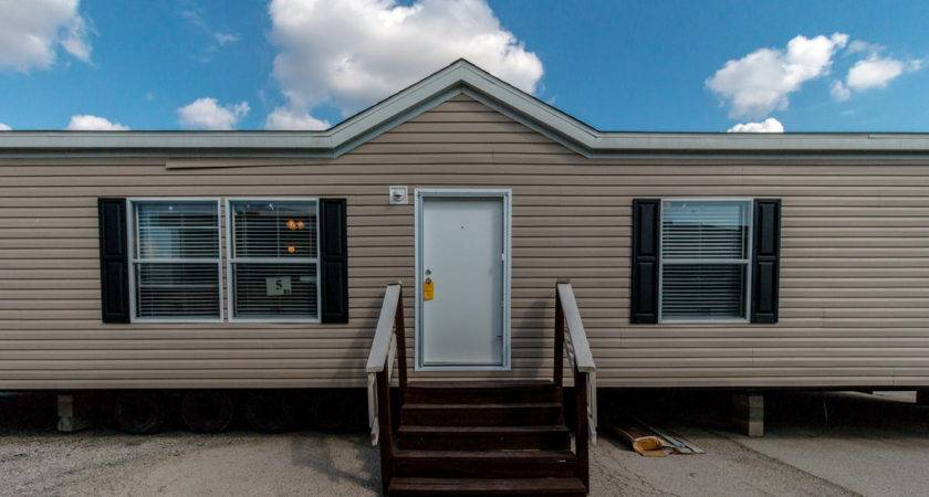 Model Double Wide Manufactured Home Bryan Texas