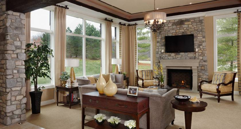 Model Homes Interiors Exemplary Home