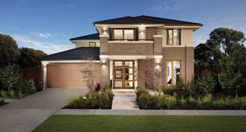 Modern Brick Houses Home Exterior Decorating Decor