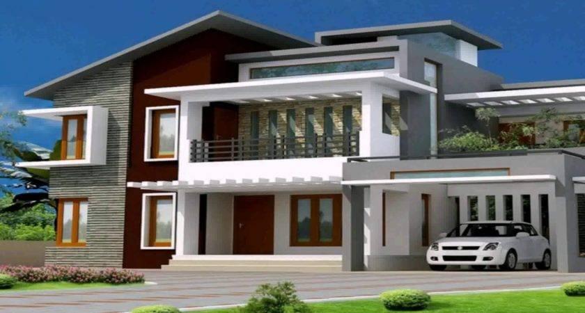 Modern Bungalow House Garage Plan