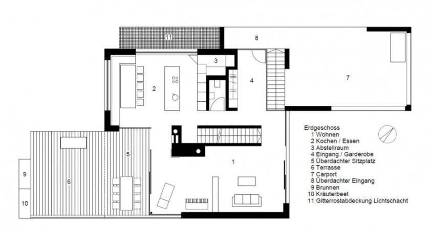 Modern Floor Design Home Second Plan