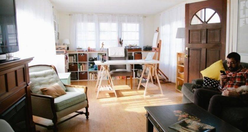 Modern Hipster Living Room Mobile Home