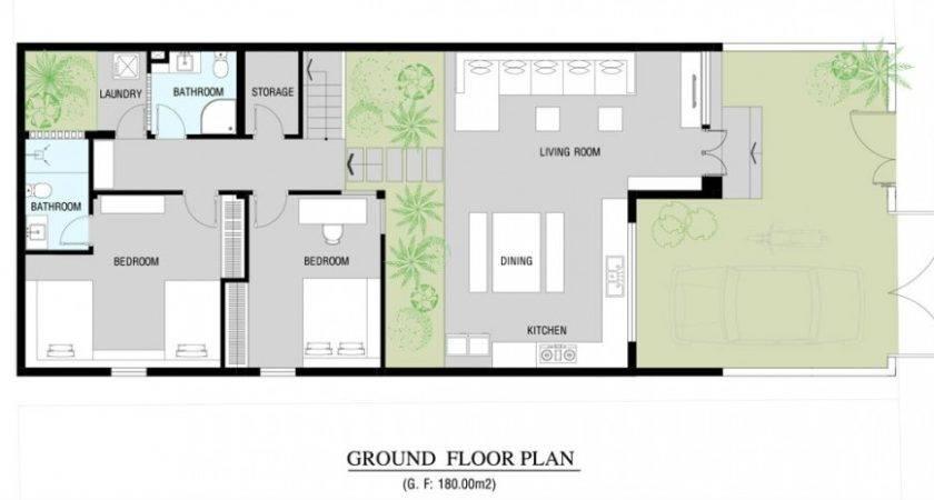 Modern Home Floor Plan Interior Design Ideas