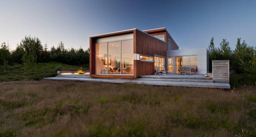 Modern Home Nature Ice House Designed Minarc Built