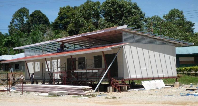 Modern Modular House Building System Insulation Technology