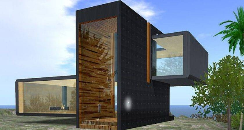 Modern Prefab Cabin Cabins Pinterest