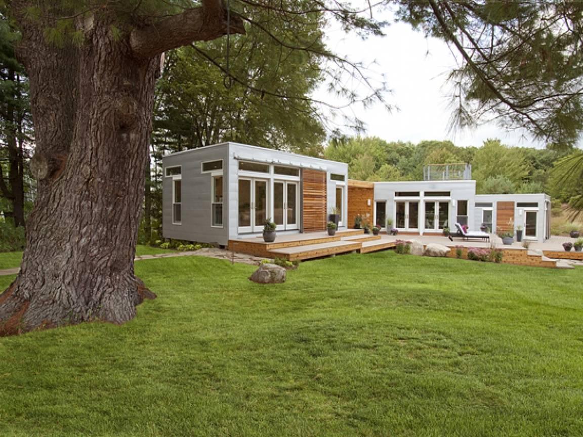 Modern Prefab Homes Cheap Green Modular Affordable