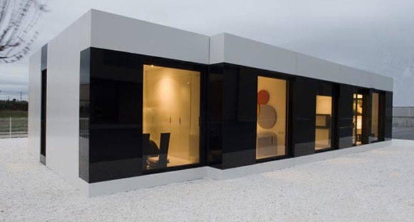Modern White Modular House Cero Interior Design