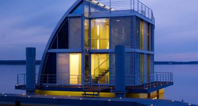 Modular Che Aqua Floathome Enjoys Lake Living Germany
