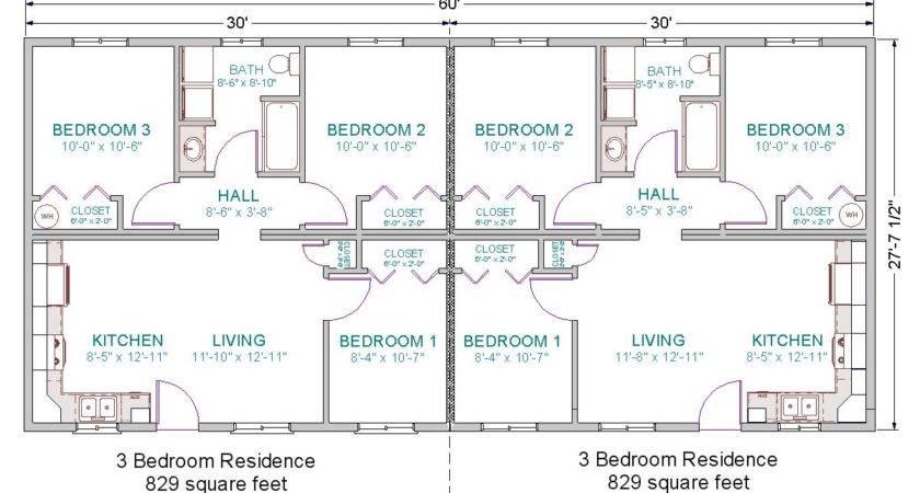 Modular Duplex Floor Plans Unique House