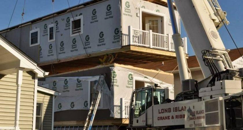 Modular Home Builder Express Builds Very Narrow Lot